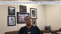 American Hip Institute Success Story: Robotic Anterior Hip Replacement Procedure