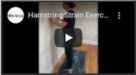 Hamstring Strain Exercises