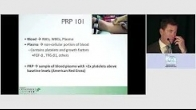 Biologic Association Summit 2020 - Platelet Rich Plasma