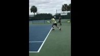 From Shoulder Pain to Starting College Tennis Player - Nic Meister's