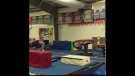 Back to competitive gymnastics after knee cartilage surgery