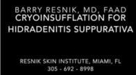 Cryoinsufflation for Hidradenitis Suppurativa