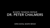 Open Distal Biceps Repair (Elbow Biceps Rupture Repair) - Patient Version