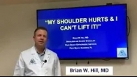 Shoulder pain? Not sure what to do? Watch Dr. Brian Hill