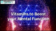 Vitamins to Boost your Mental Function
