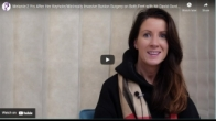 Melanie-2 Yrs After Her Keyhole/Minimally Invasive Bunion Surgery on Both Feet with Mr David Gordon