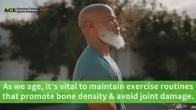 Protecting Bone Density through Resistance Exercises