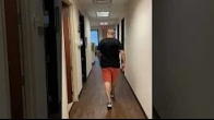Patient walking 2 weeks after Minimally Invasive Muscle-Sparing Robotic Knee Replacement at OINT
