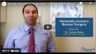 Minimally Invasive Bunion Surgery with Dr. Justin Kane from the Orthopedic Institute of North Texas